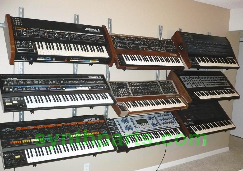 Triple Synth Stands Vintage Synth Explorer Forums